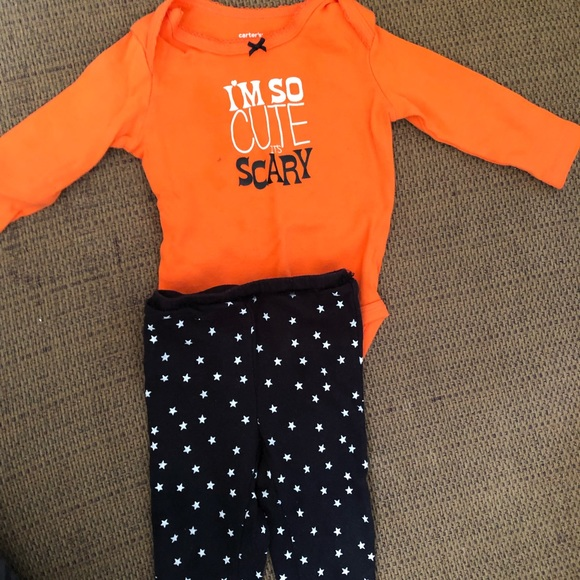 Carter's Other - 12 month baby girl Halloween outfit